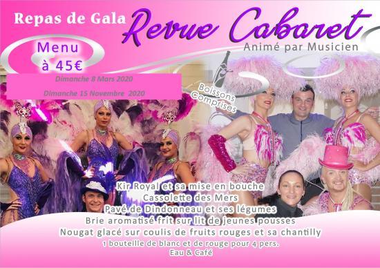 Cabaret dates